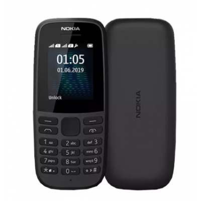 Nokia 105 DS Feature Phone (4 MB RAM, Dual Sim) -