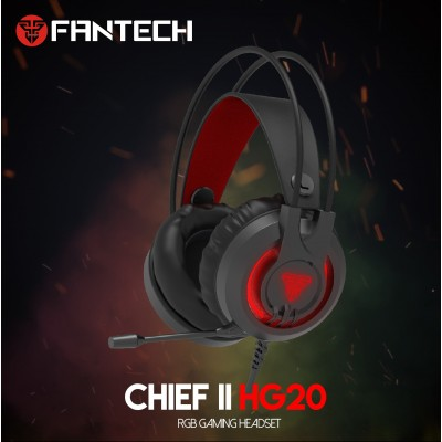HG20 3.5MM Plug RGB Gaming Headset Wide Sound Field Volume Adjustment Earphones With Microphone For PS4 PC Player