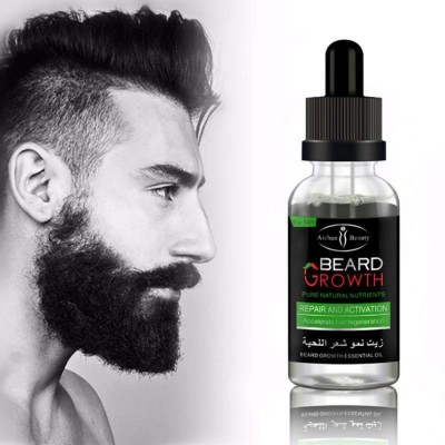 Guarantee Grow Beard Best Shiny Beard Oil Unscented for Men, Moisturizes Skin, Softens Grow Beard - Mustache, Helps Itchiness and Dryness for Facial Hair 100% All Natural Organic and Organic