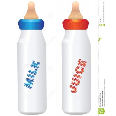 Milk bottel for small baby with Nipple
